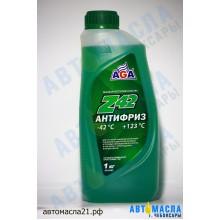 Антифриз AGA Z-42 зеленый (1л)