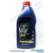 Масло 2-х такт. MANNOL PLUS п/с, API: TC; JACO: FB (1л)