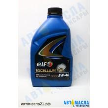 Масло моторное ELF Excellium LDX синт. 5w40 /1л/ (SL/CF,A5/B5)