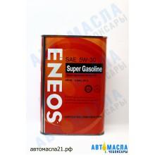Масло моторное ENEOS Super GASOLINE п/с 5w30 1л (SL/A3/GF-3)