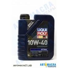Масло моторное Liqui Moli 10w40 (п/синт) Optimal (1л) 3929