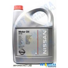 Масло моторное NISSAN 5w40 синт 5л