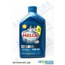 Масло моторное Shell Helix Plus HX7 10W-40 п/с 1л