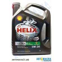 Масло моторное Shell Helix ULTRA E 5W-30 синт 5л