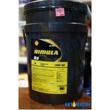 Масло моторное Shell RIMULA R6 M 10W-40 п/с 20л