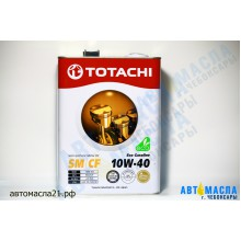 Масло моторное TOTACHI Eco Gasoline 10w40 SM/CF п/с 4л