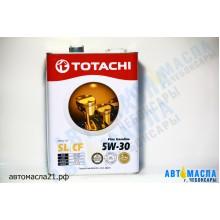 Масло моторное TOTACHI Fine Gasoline 5w30 SL/CF п/с 4л