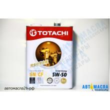 Масло моторное TOTACHI Grand Racing 5w50 SN/CF синт 4л