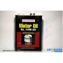 Масло моторное TOYOTA Motor Japan 10w30 (SL) 4л минер