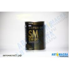 Масло моторное TOYOTA Motor Japan синтетическое 5w30 (SM) 1л