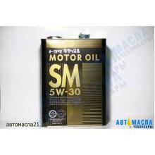 Масло моторное TOYOTA Motor Japan синтетическое 5w30 (SM) 4л