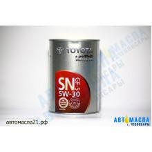 Масло моторное TOYOTA Motor Japan синтетическое 5w30 (SN/CF) 1л