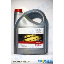 Масло моторное TOYOTA Motor Japan синтетическое 5w40 SL/CF 5л