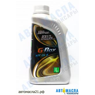 Масло трансмиссионное G-Box ATF DX III (1л)