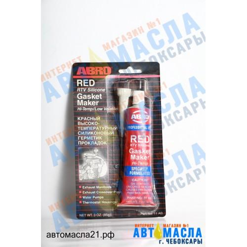 Герметик ABRO красный 85 гр