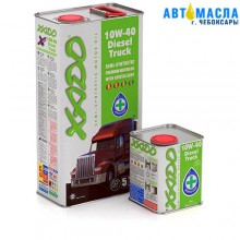 Масло моторное XADO Atomic Oil 10W-40 Дизель Трак (жестебанка 1л)